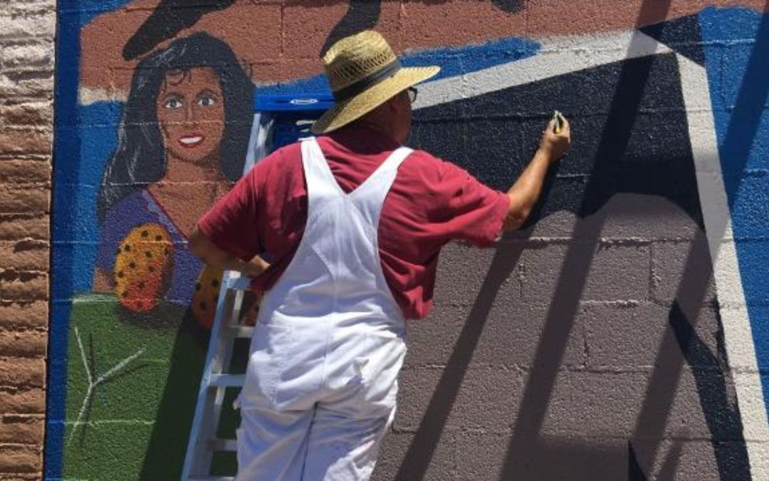 Seventh Street mural highlights Latino accomplishments