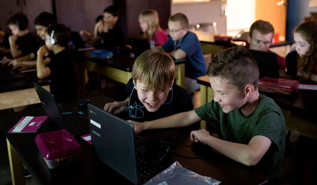 iCode Kids coding classes focus on developing both tech skills and life skills