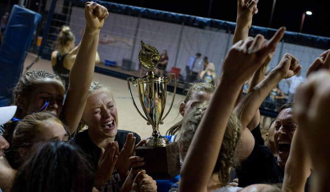 Fountain Hills girls beach volleyball captures Division II crown
