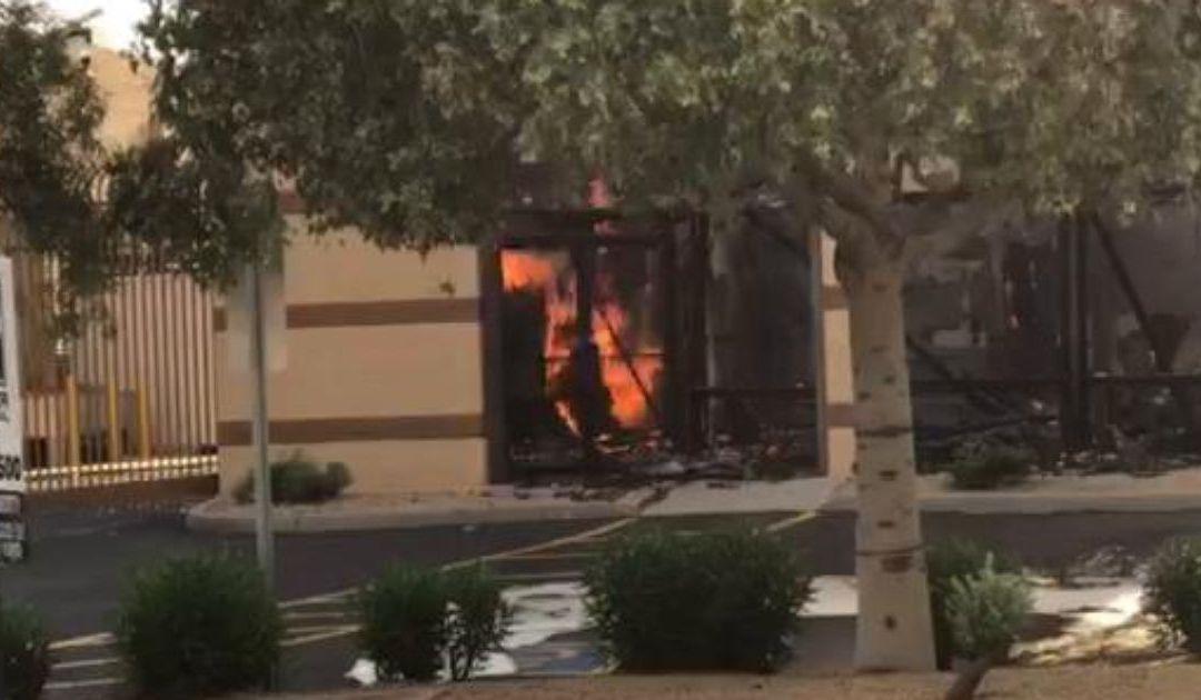 North Phoenix inferno sparked by lithium batteries