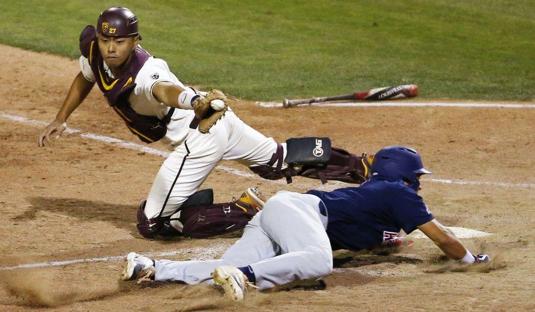 No. 19 Arizona Wildcats baseball holds on to beat ASU in Pac-12 rivalry series opener