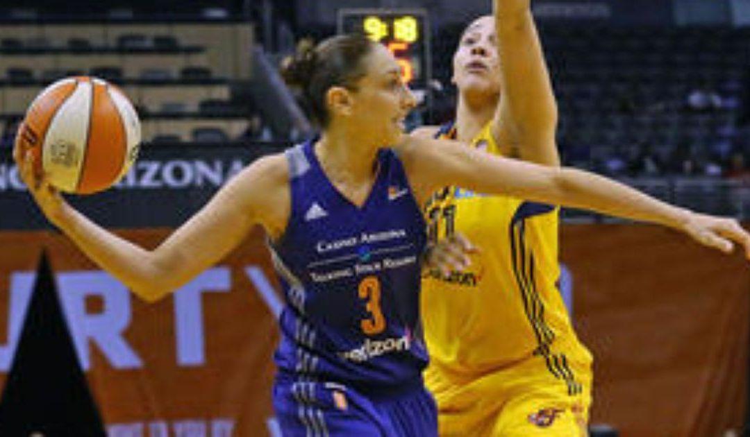 Mercury guard Diana Taurasi suspended for hitting San Antonio player