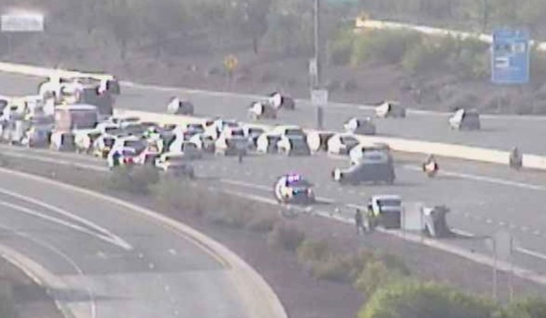Multiple collisions slow Loop 202 morning traffic