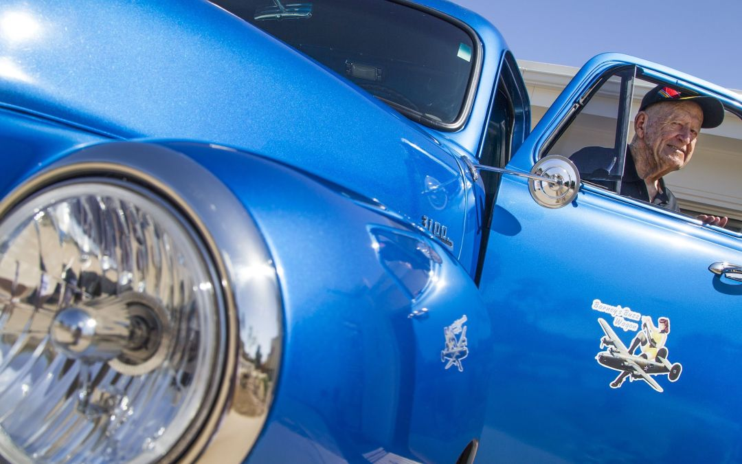 Scottsdale World War II veteran drives nostalgic B-24-styled truck