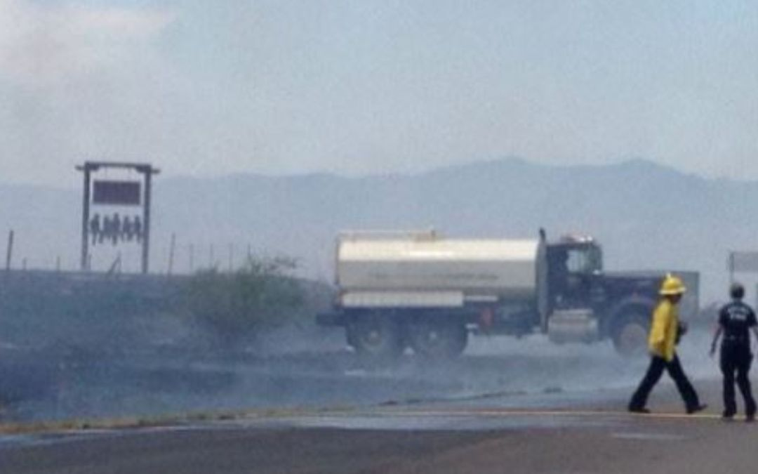 Fast-burning brush fire in Sonoita burns 250 acres within hour of start
