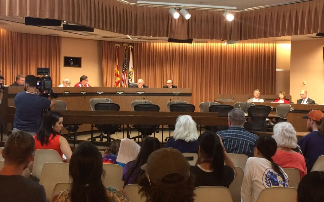 Pima County, Tucson officially oppose President Donald Trump's proposed border wall