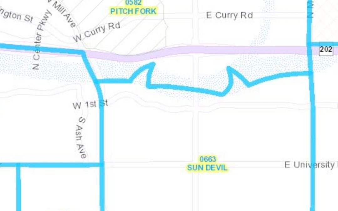 New Maricopa County voting district is drawn to include devil horns