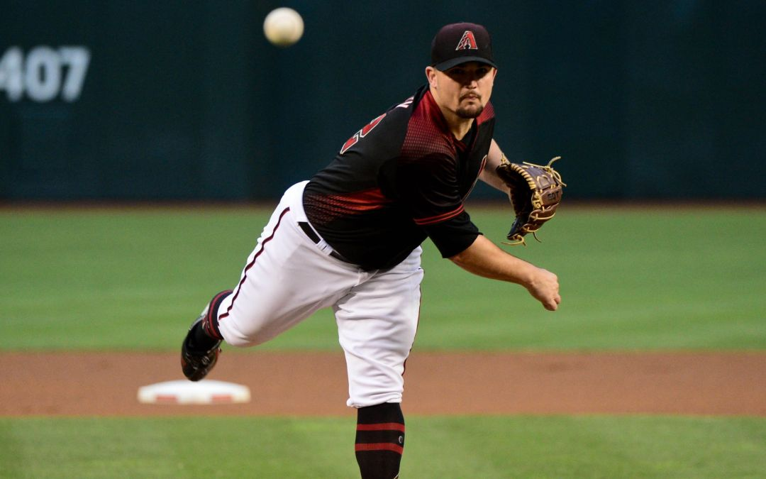 Zack Godley putting up zeroes vs. Brewers
