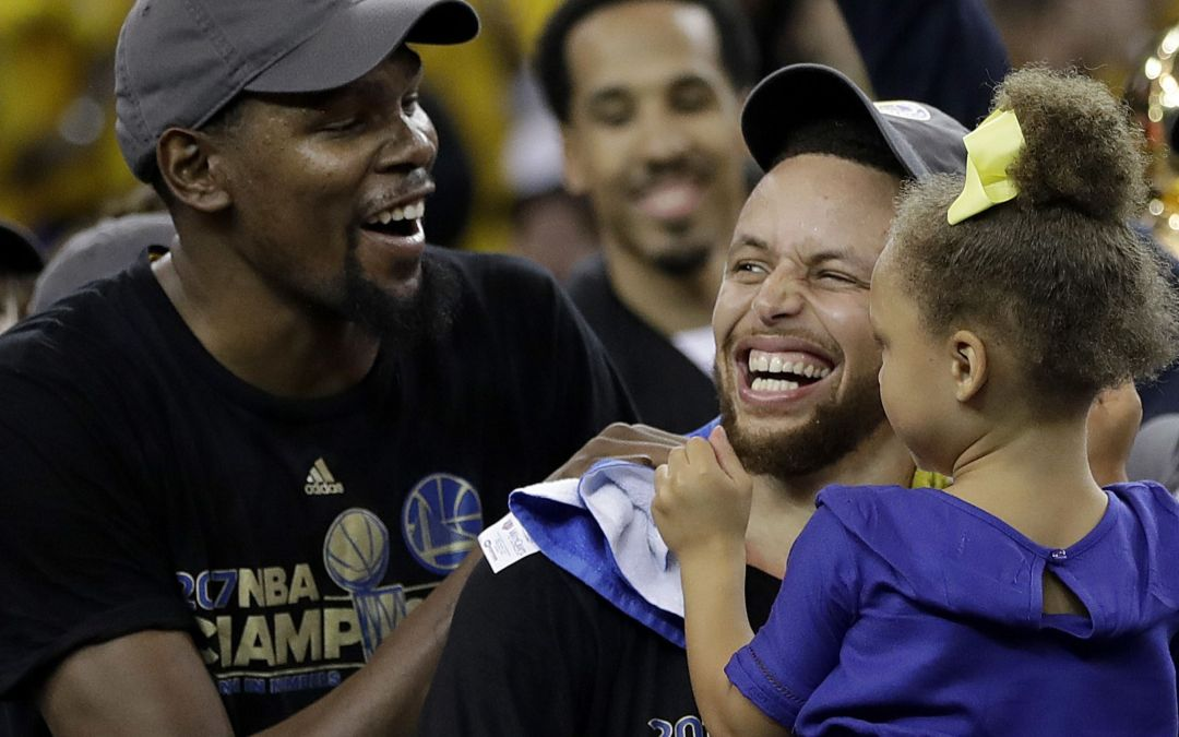 What did Kevin Durant say to Steph Curry?