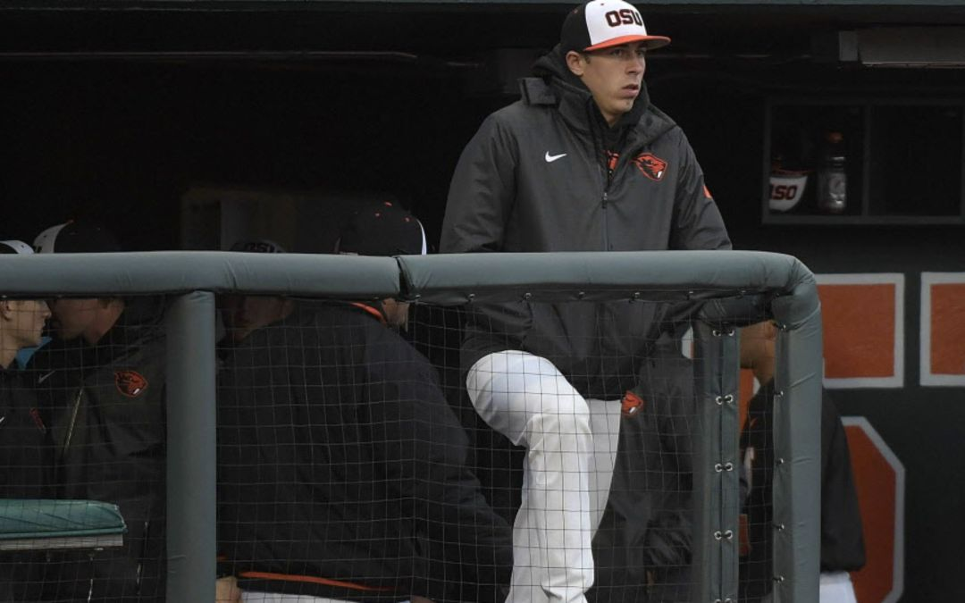 Oregon State sex offender pitcher won't pitch in College World Series