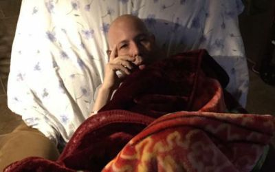 The dying Army veteran thanks you for the text messages