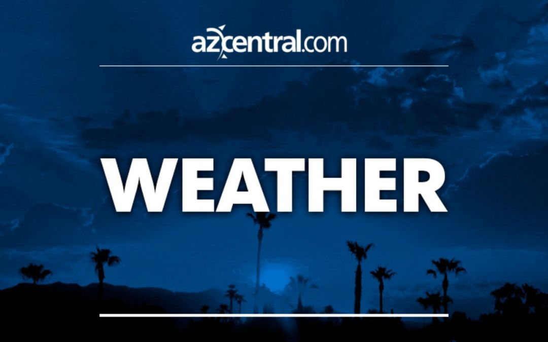 Phoenix rain, mountain snow expected Sunday