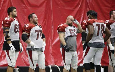 Cardinals right tackle Jared Veldheer working through struggles