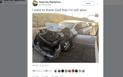 Mesa's 'Sassy Gay Republican' goes viral after insurance drama