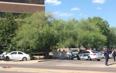 Mother, toddler struck by car at bus stop in Phoenix