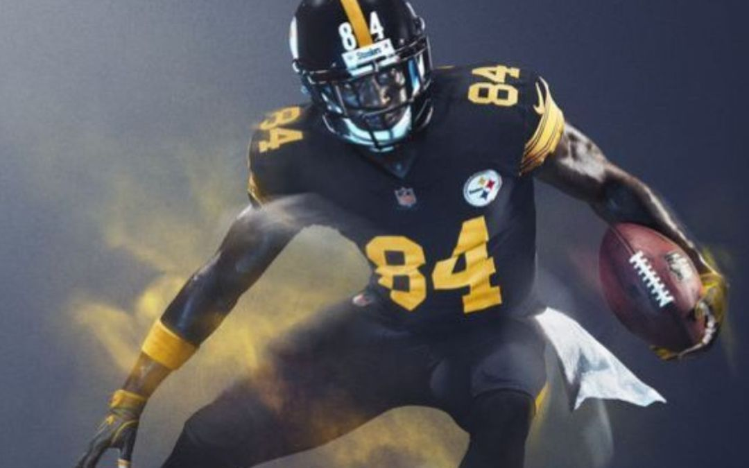 366a049e44b NFL Color Rush uniforms for Steelers
