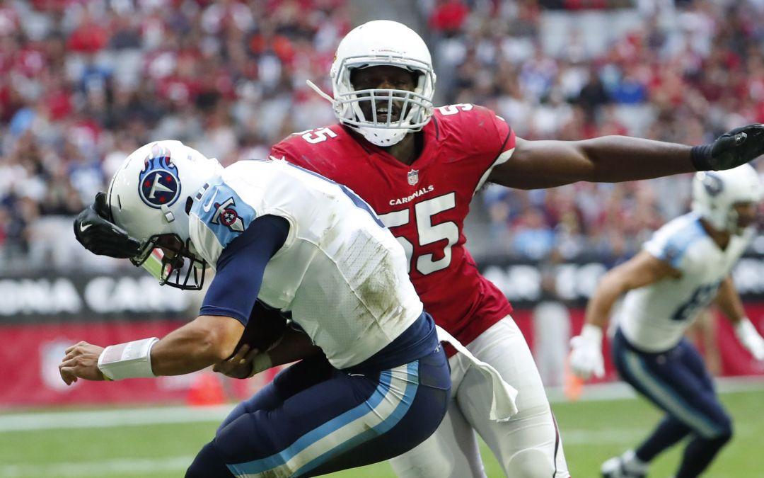 Linebacker Chandler Jones Safety Budda Baker All Pro Integrity