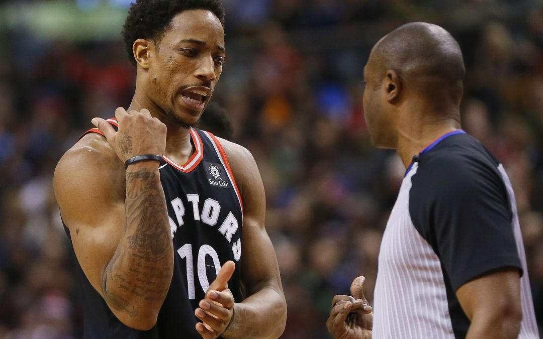 Raptors angry with officials after controversial Warriors finish