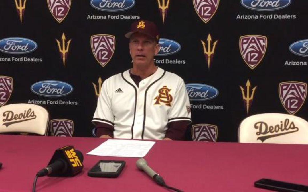 ASU baseball falls to Arizona