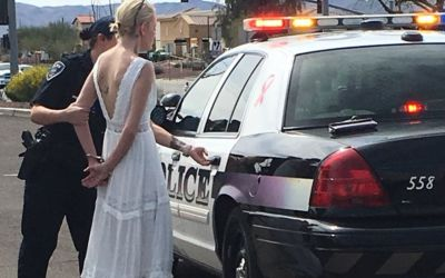 Arizona woman disputes her DUI arrest was made on wedding day