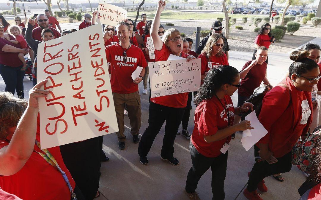 Arizona teachers to vote on a #RedForEd walkout