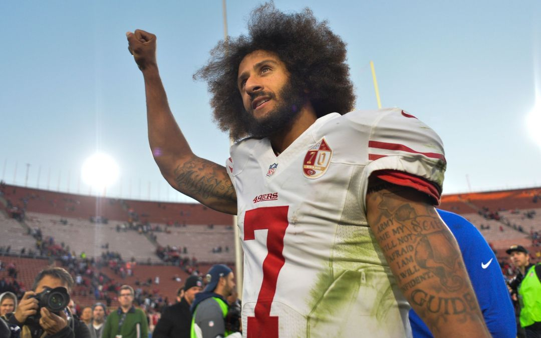 Colin Kaepernick quotes Jackie Robinson on anthem protests