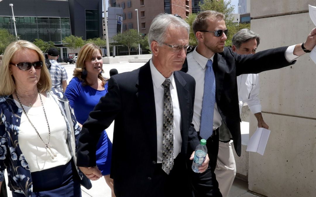 Kelly Norton faces tough questions in Johnson Utilities bribery case