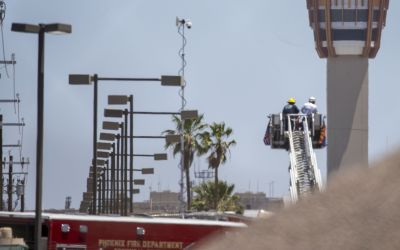 Worker believed dead after drill rig falls at Phoenix airport