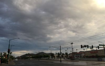 Light rainfall in pockets across Phoenix area, more storms expected