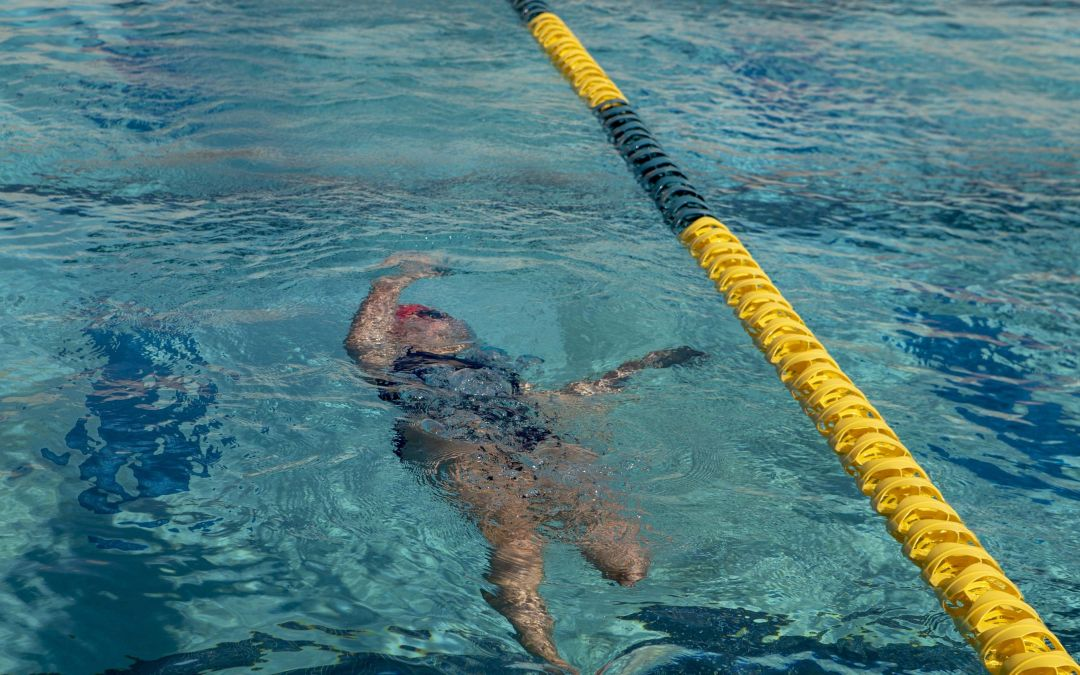 Mountain View High School swimmer Nina Bezzant perseveres with one leg