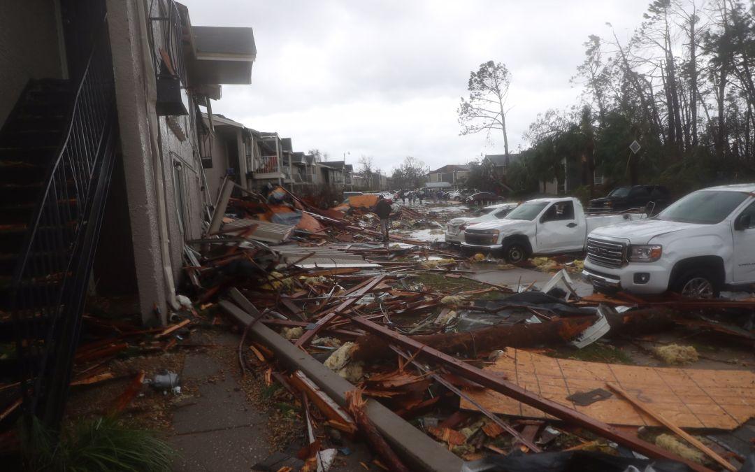 Tropical Storm Michael weakens across Georgia after thunderous arrival