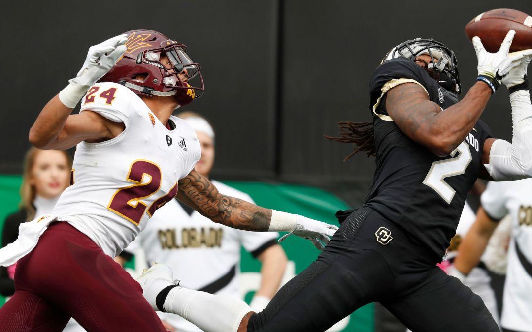 ASU cornerback Chase Lucas blaming himself for Colorado loss