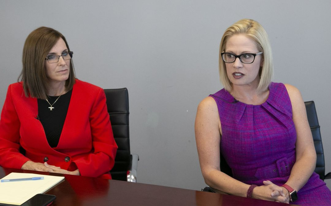 Martha McSally, Kyrsten Sinema have been here before