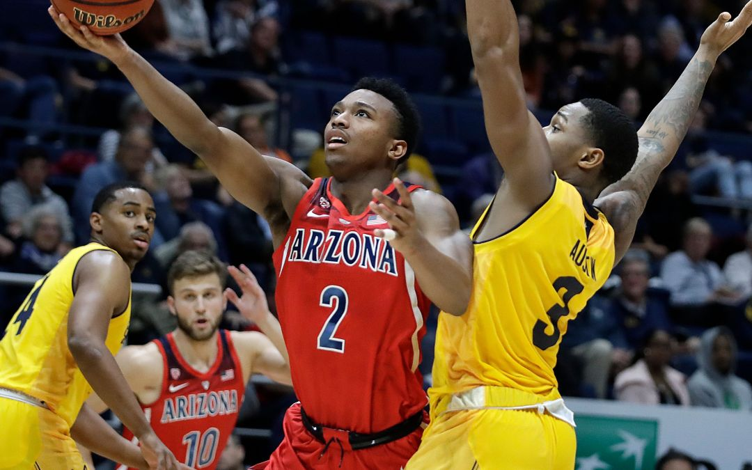 Arizona Wildcats basketball back on top of Pac-12 men's standings