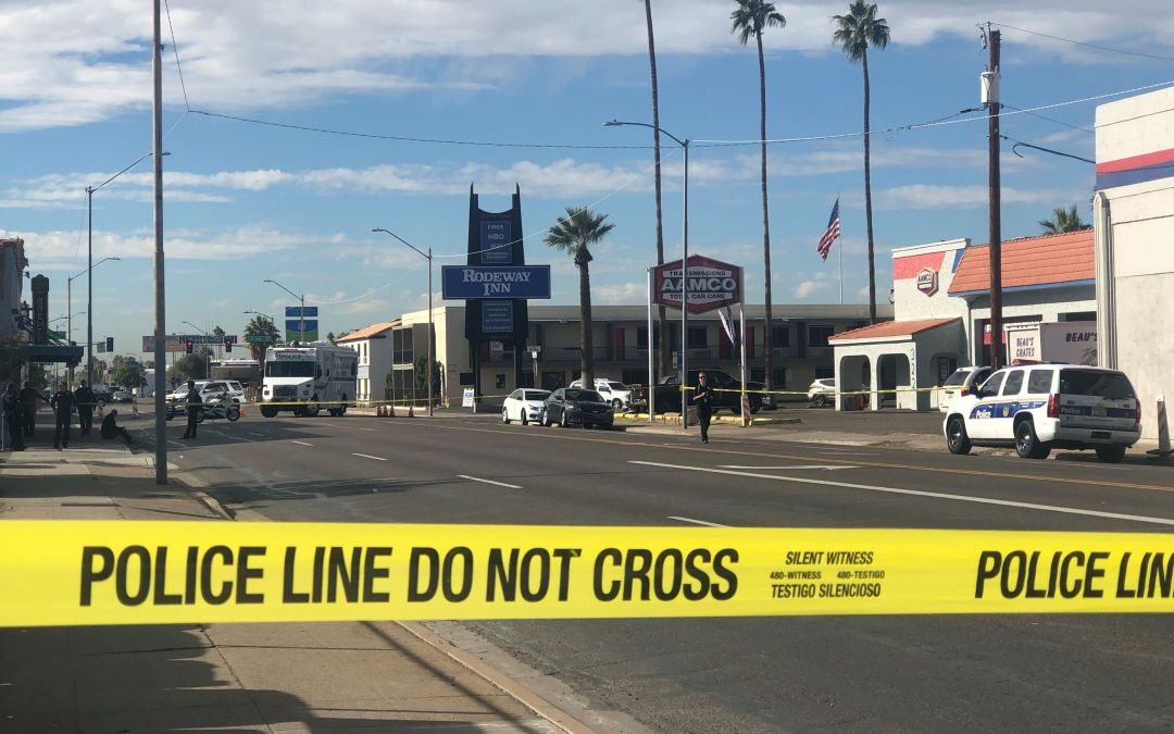 Man shot in downtown Phoenix in possible road-rage incident