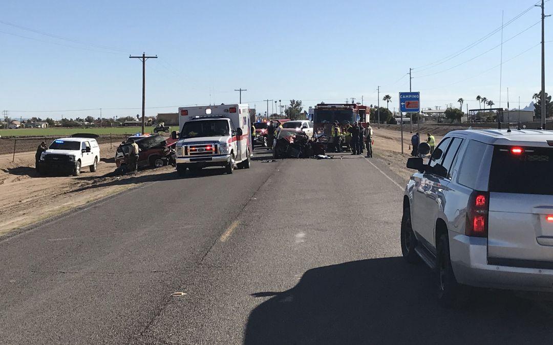 3 killed in head-on crash in Arizona City