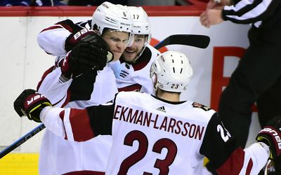 Coyotes come from behind to beat Canucks in overtime