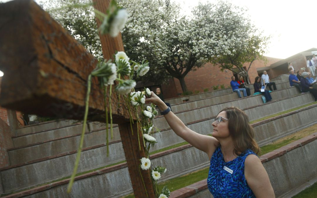Easter sunrise service at Paradise Valley United Methodist Church