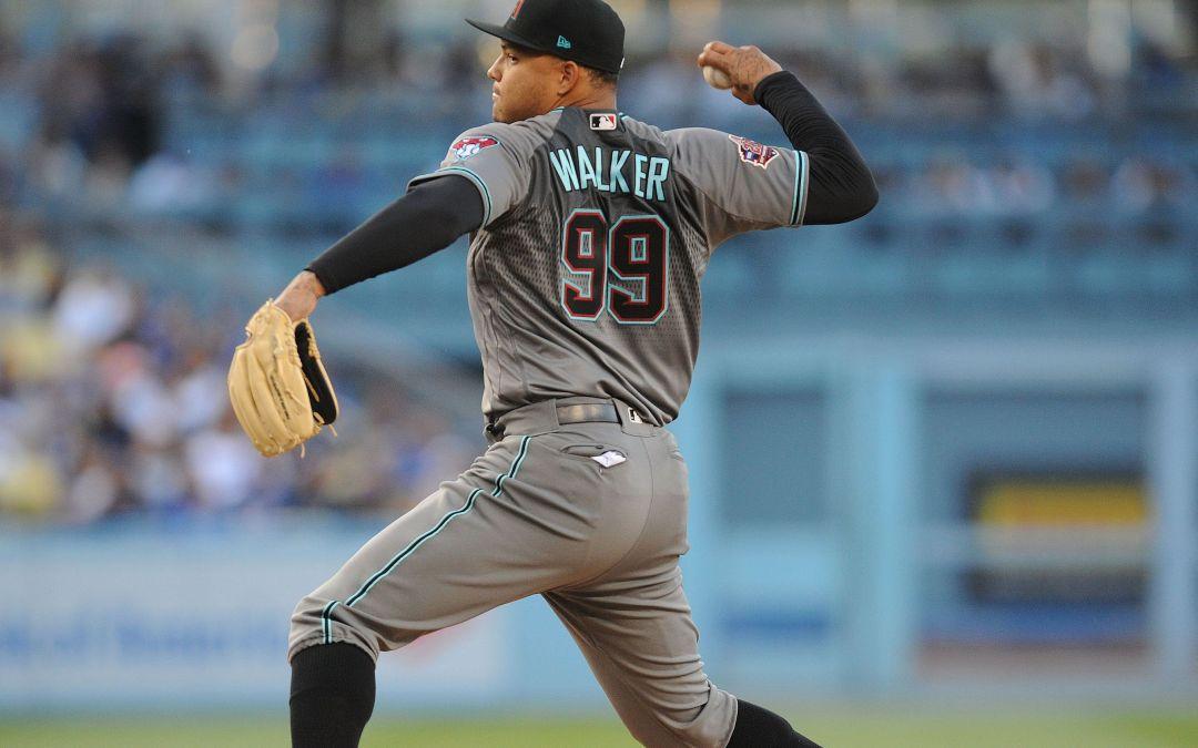 Taijuan Walker's latest injury a blow to Diamondbacks' rotation depth
