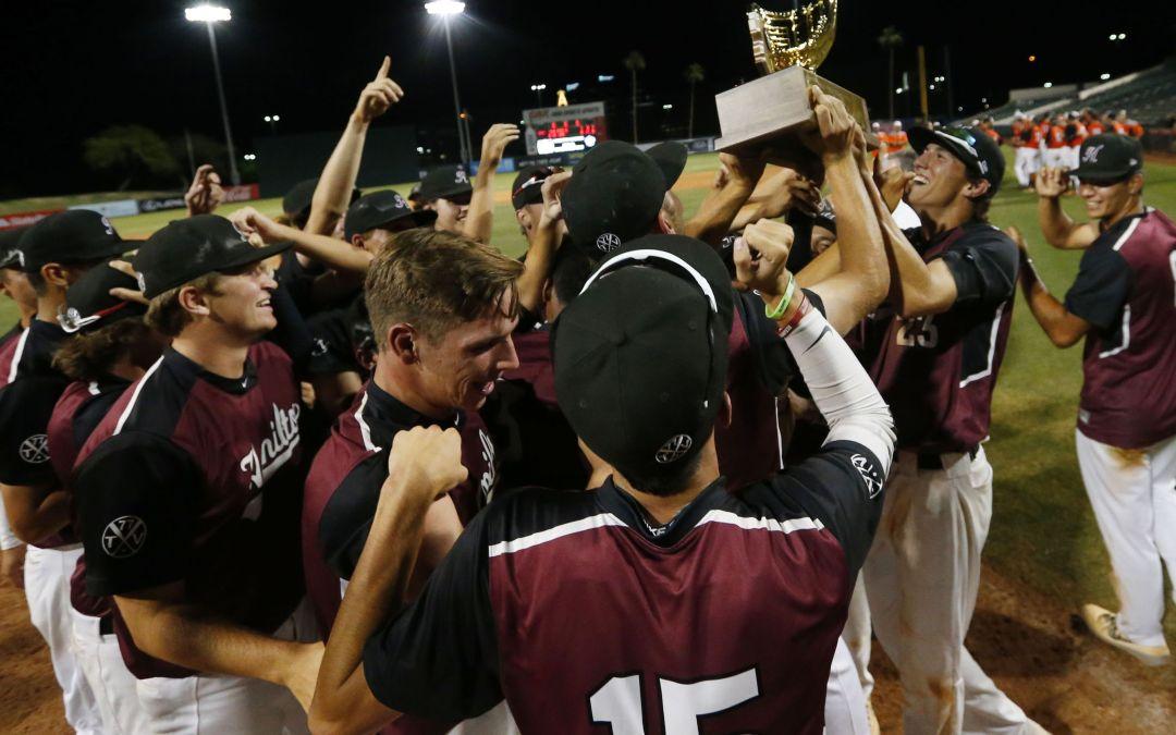 Hamilton defeats Corona del Sol in 6A state baseball championship