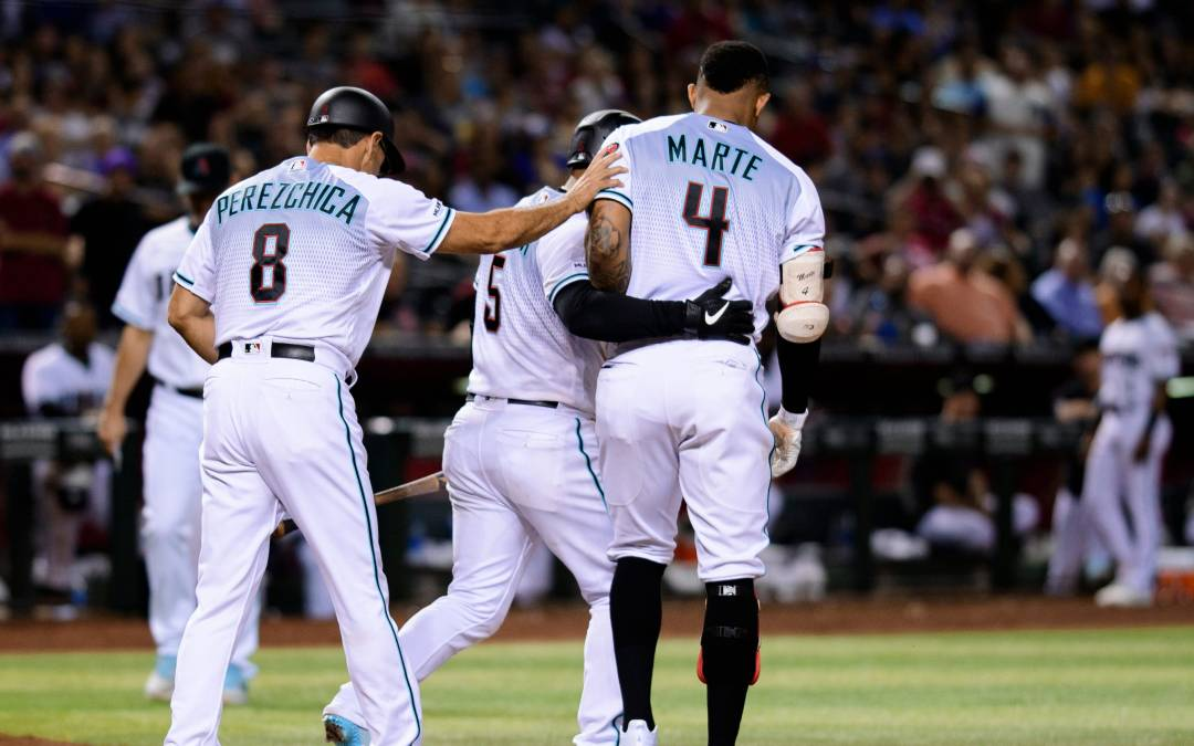 Diamondbacks' Torey Lovullo sees double standard in Ketel Marte ejection