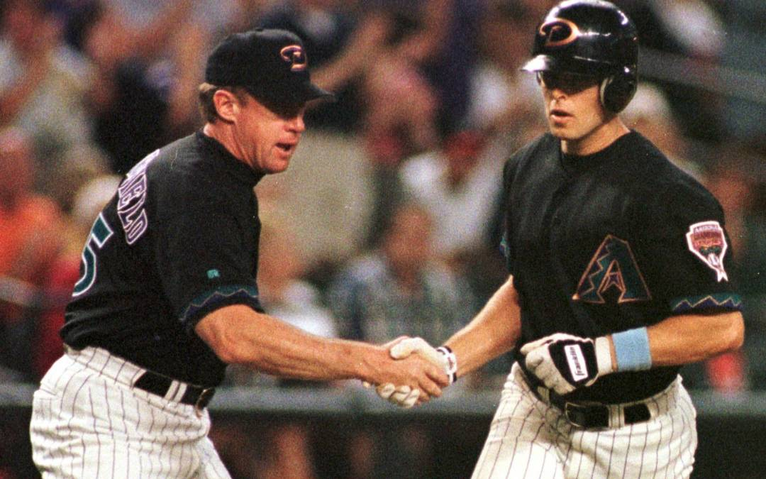 Grand slam from Diamondbacks' Jay Bell still going 20 years later