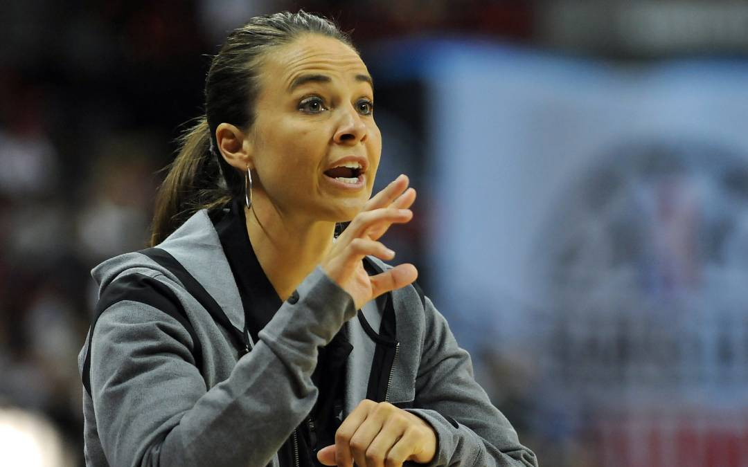 Why is only one woman leading an NBA Summer League coaching staff?