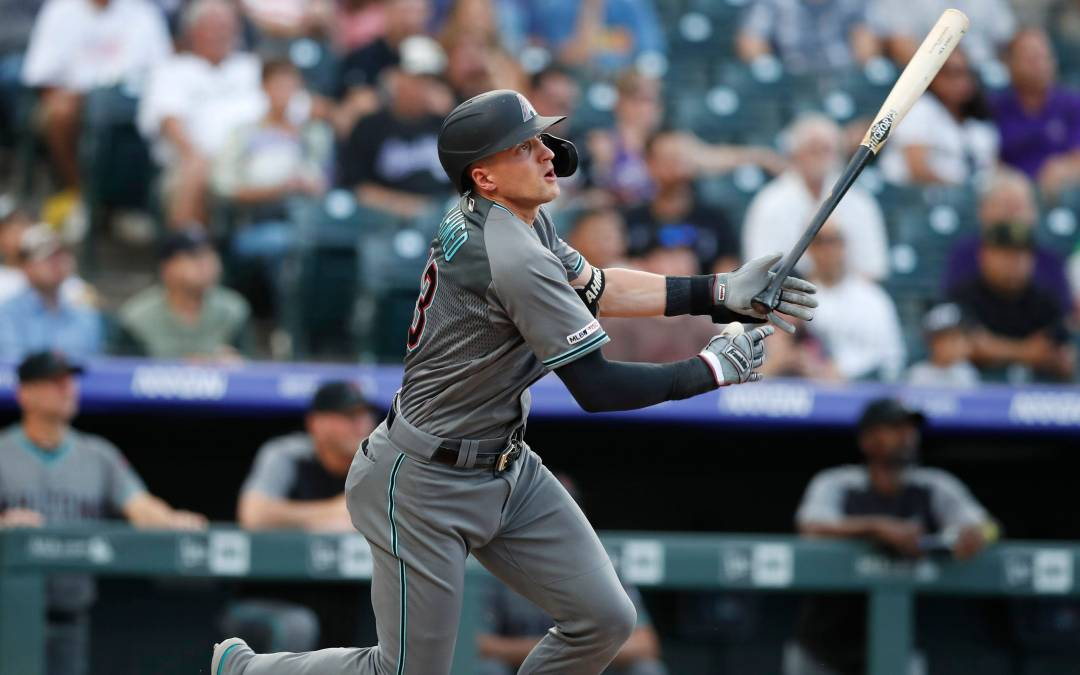 Nick Ahmed stays hot in rout of Colorado Rockies