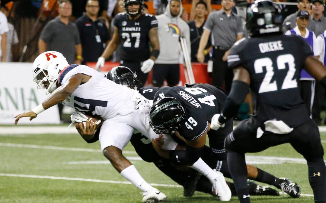 Arizona Football Comes Up Yard Short In Loss To Hawaii