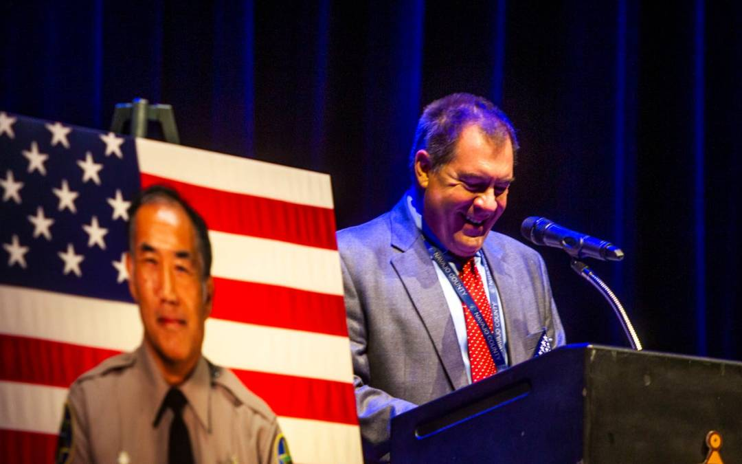 Fallen MCSO detention officer Gene Lee honored at downtown Phoenix ceremony