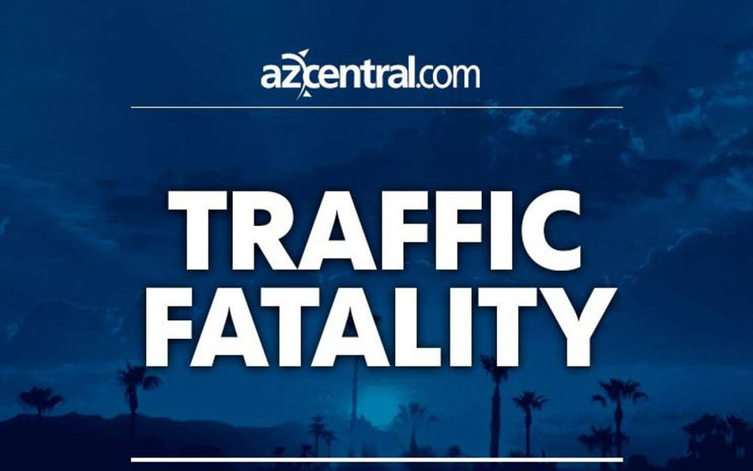 1 dead after vehicle strikes block wall and pole in Glendale