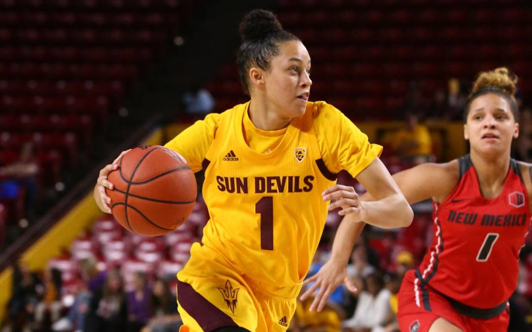 ASU women's basketball blows out New Mexico behind Richardson's 21
