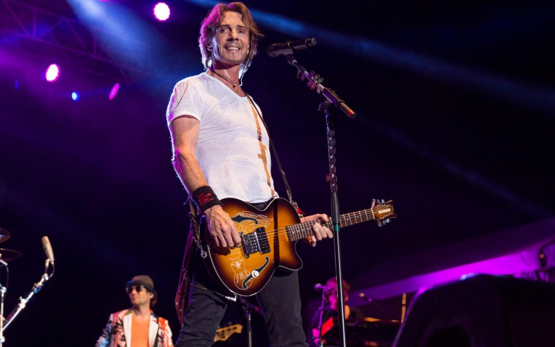 Chicago on tour with Rick Springfield