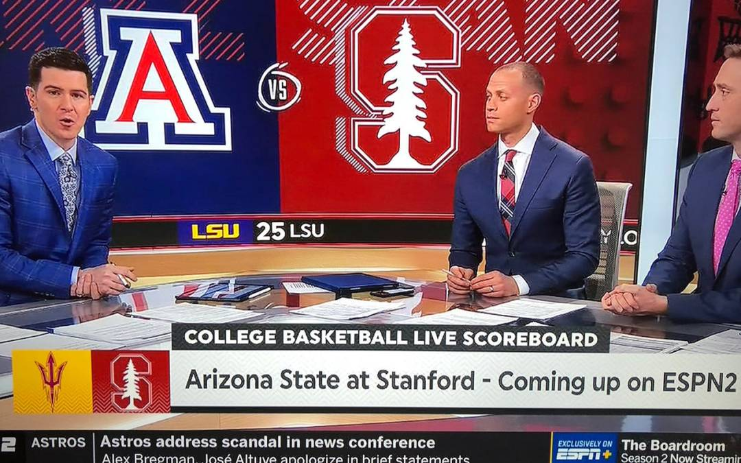 Hey ESPN2, Arizona State and University of Arizona are different things